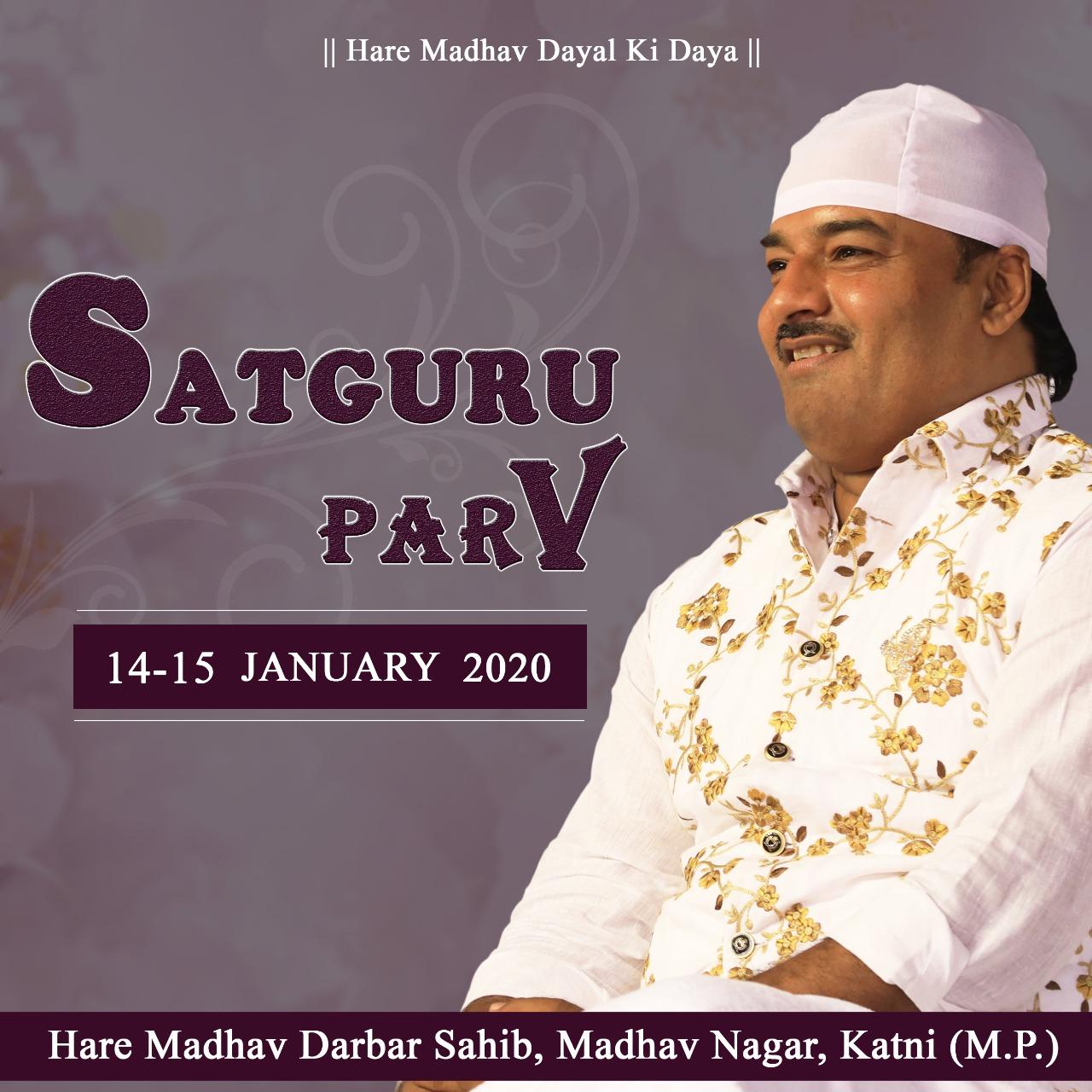 Hare Madhav Satguru Parv