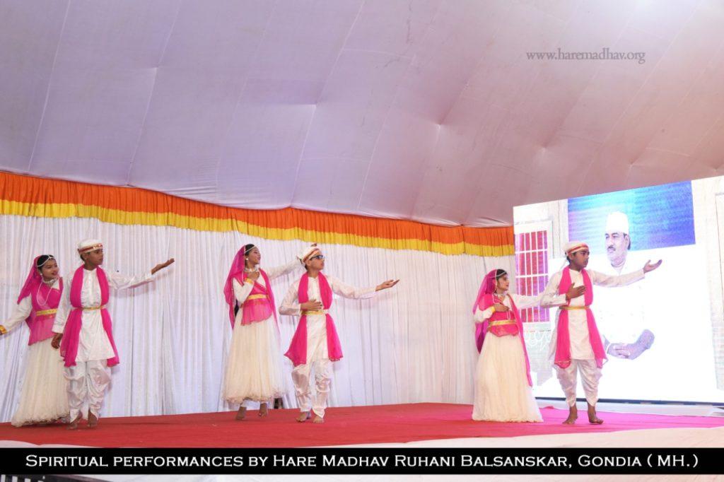 Spiritual Performances by Hare Madhav Ruhani Balsanskar, Gondia 8